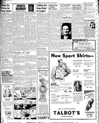 Hope Star from Hope, Arkansas on April 8, 1943 · Page 6