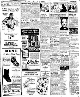 Globe-Gazette from Mason City, Iowa on October 13, 1949 · Page 31