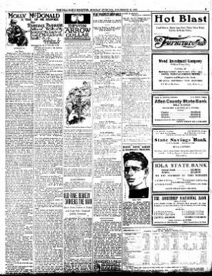 Iola Daily Register And Evening News from Iola, Kansas on November 11, 1912 · Page 5
