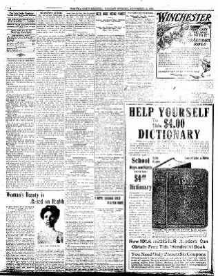 Iola Daily Register And Evening News from Iola, Kansas on November 12, 1912 · Page 4