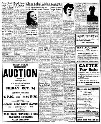 Globe-Gazette from Mason City, Iowa on October 13, 1949 · Page 36