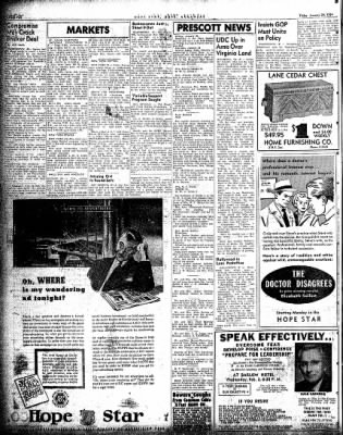 Hope Star from Hope, Arkansas on January 29, 1954 · Page 2