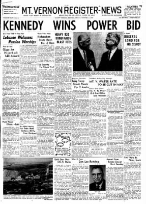 Mt. Vernon Register-News from Mt Vernon, Illinois on January 3, 1969 · Page 1
