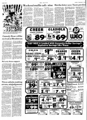 Hope Star from Hope, Arkansas on September 9, 1974 · Page 12