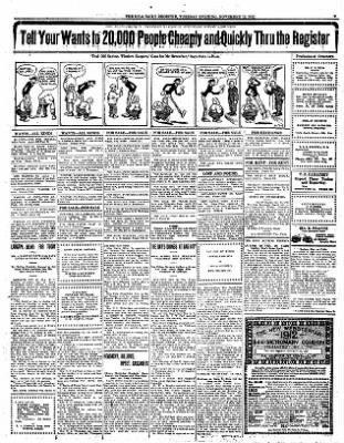 Iola Daily Register And Evening News from Iola, Kansas on November 12, 1912 · Page 7