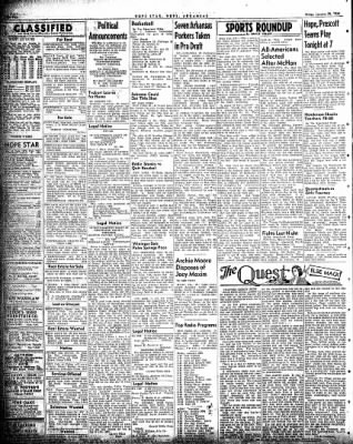 Hope Star from Hope, Arkansas on January 29, 1954 · Page 4