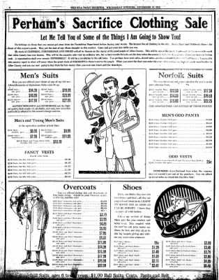 Iola Daily Register And Evening News from Iola, Kansas on November 13, 1912 · Page 4