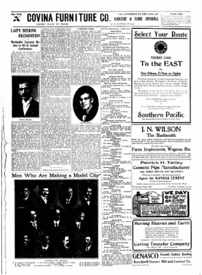 Covina Argus from Covina, California on December 26, 1908 · Page 11