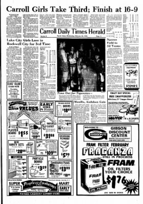 Carrol Daily Times Herald from Carroll, Iowa on February 25, 1976 · Page 11