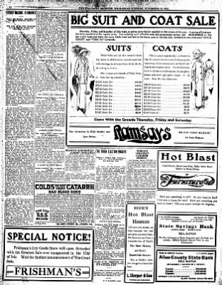 Iola Daily Register And Evening News from Iola, Kansas on November 13, 1912 · Page 12