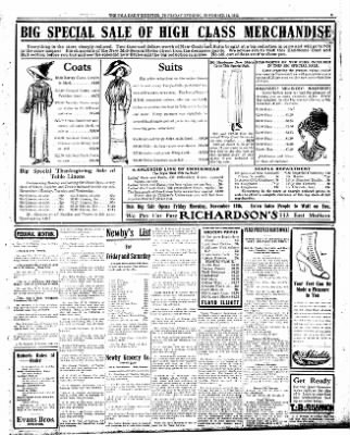 Iola Daily Register And Evening News from Iola, Kansas on November 14, 1912 · Page 3