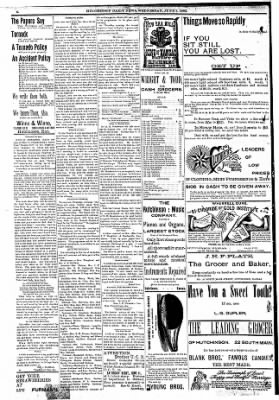 The Hutchinson News from Hutchinson, Kansas on June 1, 1892 · Page 3