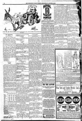 The Hutchinson News from Hutchinson, Kansas on June 2, 1892 · Page 4