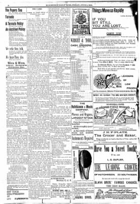 The Hutchinson News from Hutchinson, Kansas on June 3, 1892 · Page 3