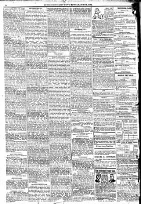 The Hutchinson News from Hutchinson, Kansas on June 6, 1892 · Page 1
