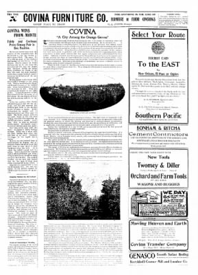 Covina Argus from Covina, California on January 9, 1909 · Page 5