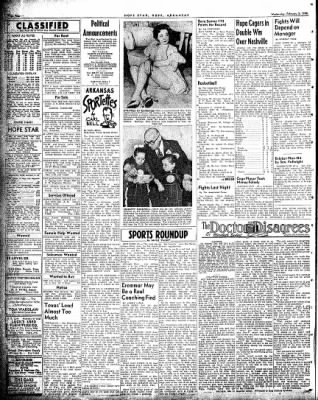 Hope Star from Hope, Arkansas on February 3, 1954 · Page 4