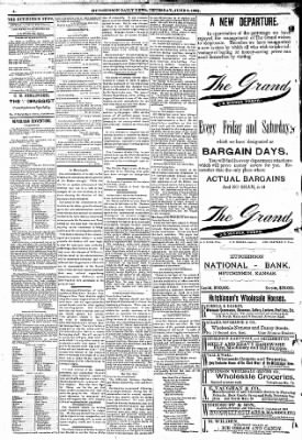 The Hutchinson News from Hutchinson, Kansas on June 9, 1892 · Page 2