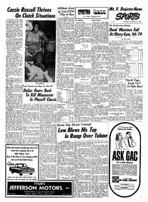 Mt. Vernon Register-News from Mt Vernon, Illinois on January 6, 1969 · Page 7