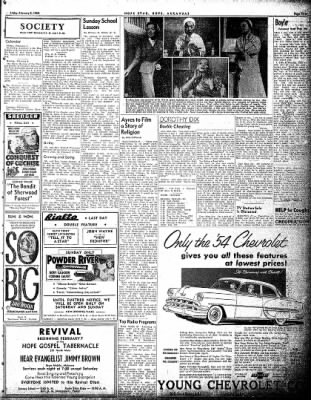 Hope Star from Hope, Arkansas on February 5, 1954 · Page 3