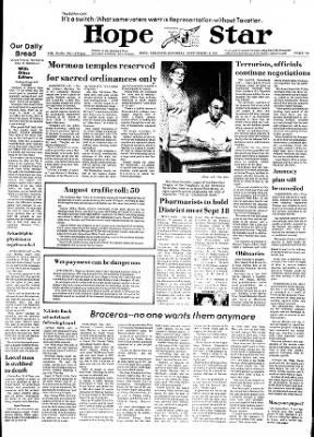 Hope Star from Hope, Arkansas on September 14, 1974 · Page 1