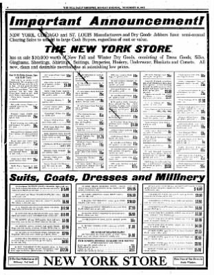 Iola Daily Register And Evening News from Iola, Kansas on November 18, 1912 · Page 8
