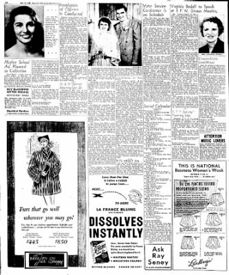 Globe-Gazette from Mason City, Iowa on October 12, 1949 · Page 23