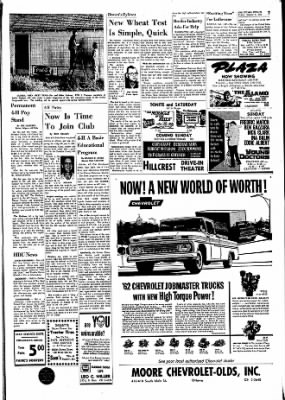 The Ottawa Herald from Ottawa, Kansas on October 6, 1961 · Page 7