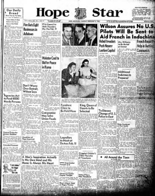 Hope Star from Hope, Arkansas on February 9, 1954 · Page 1