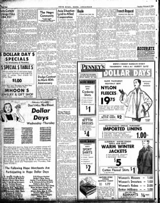 Hope Star from Hope, Arkansas on February 9, 1954 · Page 4