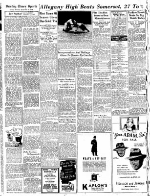 Cumberland Sunday Times from Cumberland, Maryland on September 24, 1944 · Page 16