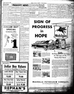 Hope Star from Hope, Arkansas on February 9, 1954 · Page 5