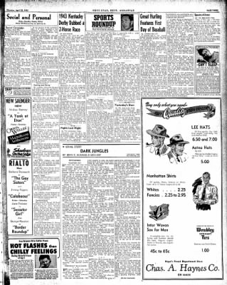Hope Star from Hope, Arkansas on April 22, 1943 · Page 3