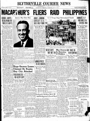The Courier News from Blytheville, Arkansas on April 15, 1942 · Page 1