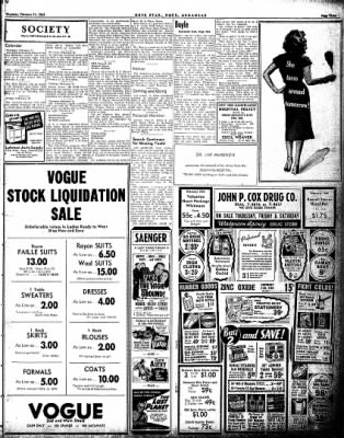Hope Star from Hope, Arkansas on February 11, 1954 · Page 3