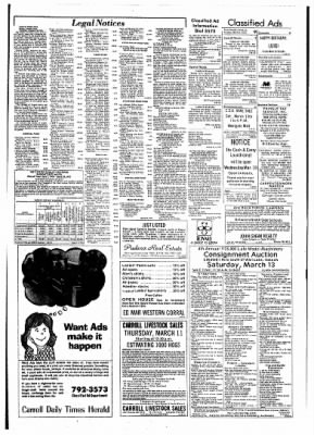 Carrol Daily Times Herald from Carroll, Iowa on March 9, 1976 · Page 9
