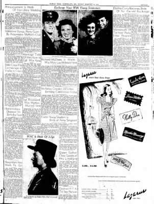 Cumberland Sunday Times from Cumberland, Maryland on February 18, 1945 · Page 15