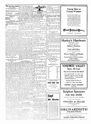 Covina Argus from Covina, California on April 24, 1909 · Page 4