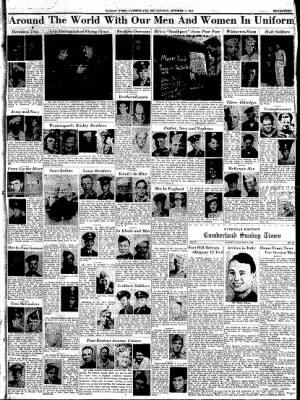 Cumberland Sunday Times from Cumberland, Maryland on October 1, 1944 · Page 17
