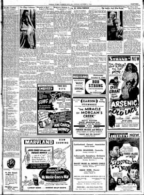 Cumberland Sunday Times from Cumberland, Maryland on October 1, 1944 · Page 19