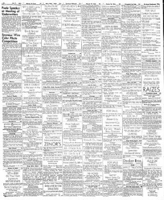 Globe-Gazette from Mason City, Iowa on October 8, 1949 · Page 4