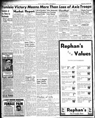 Hope Star from Hope, Arkansas on April 28, 1943 · Page 2