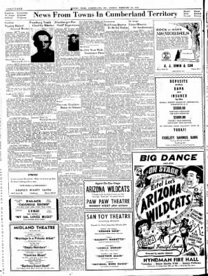 Cumberland Sunday Times from Cumberland, Maryland on February 25, 1945 · Page 18