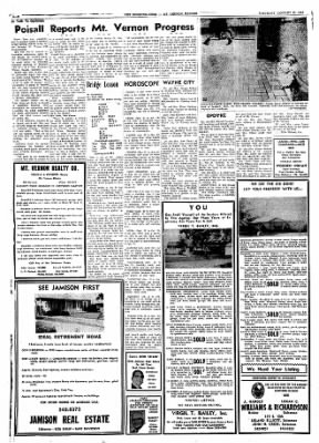 Mt. Vernon Register-News from Mt Vernon, Illinois on January 11, 1969 · Page 12