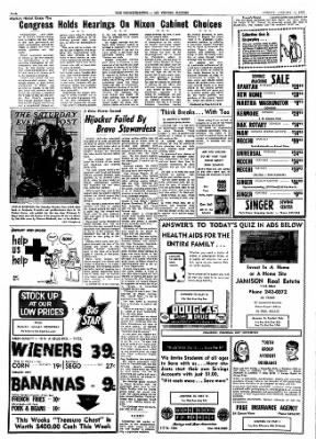 Mt. Vernon Register-News from Mt Vernon, Illinois on January 13, 1969 · Page 6