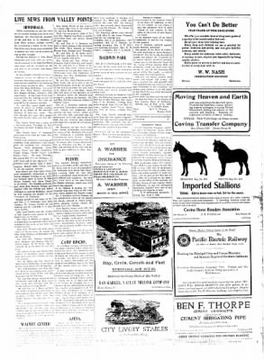Covina Argus from Covina, California on June 12, 1909 · Page 2