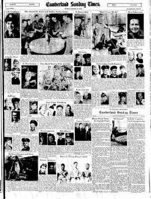 Cumberland Sunday Times from Cumberland, Maryland on March 4, 1945 · Page 9