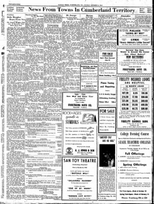 Cumberland Sunday Times from Cumberland, Maryland on October 8, 1944 · Page 22