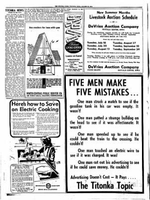 Titonka Topic from Titonka, Iowa on August 29, 1974 · Page 4