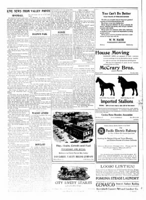 Covina Argus from Covina, California on June 19, 1909 · Page 2